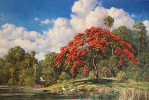 Royal Poinciana 24 x 36(SOLD)