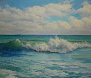 Emerald Wave 30 x 36